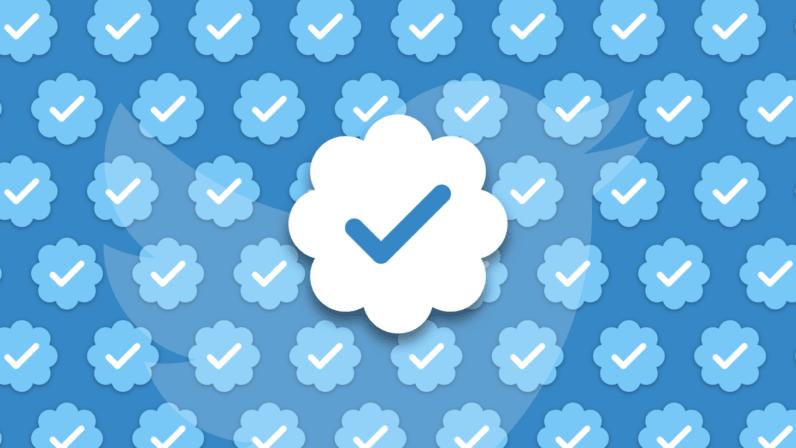 Twitter relaunching the blue checkmark