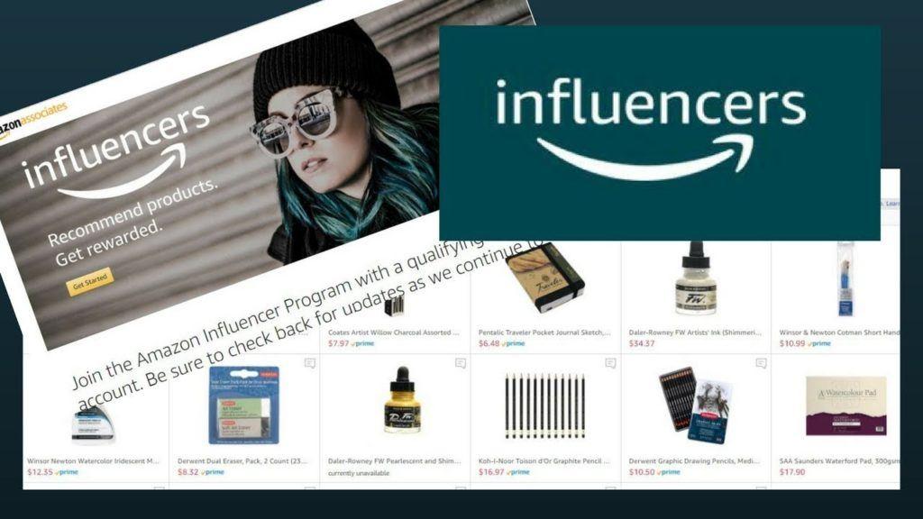 Influencer marketing on Instagram through Amazon Store