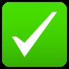 green check emoji
